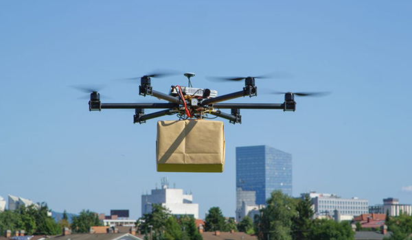 We Launched Regular Drone Delivery in California. Watch Demo Video